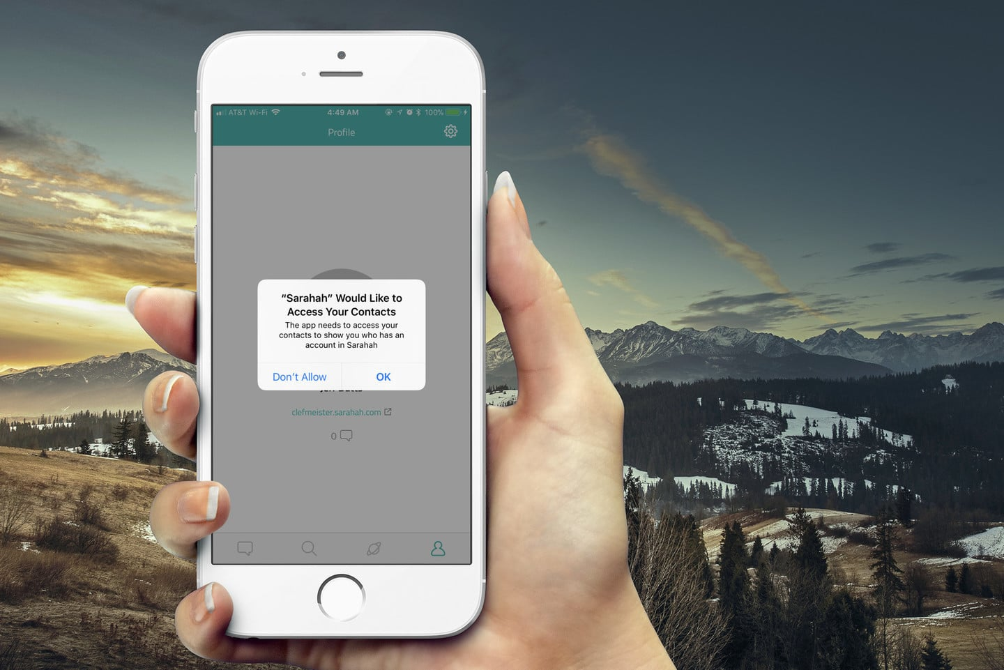 Sarahah Wants Your Contact Details for a Non-Existing Feature