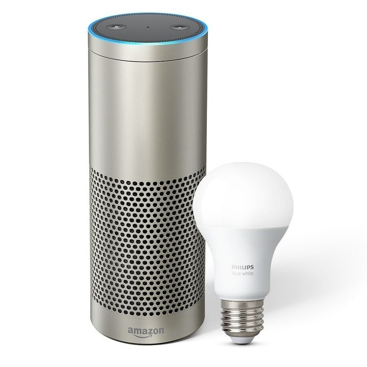The Echo Plus will come with a free Philips Hue bulb.
