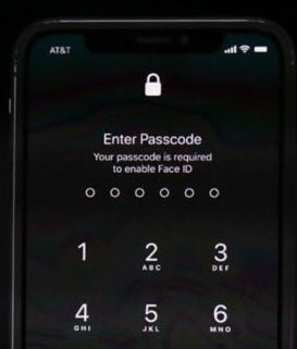 A familiar message, an iPhone asking for a password after too many failed attempts to authenticate by, in this case, Face ID