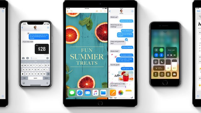 You Can Download iOS 11, watchOS 4, tvOS 11 on Tuesday, Sept. 19