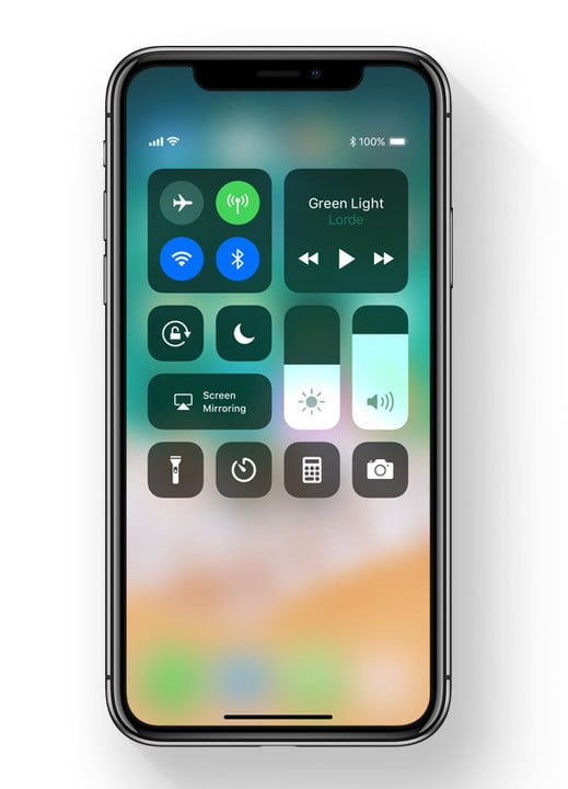 The Control Center is revamped and now customizable.
