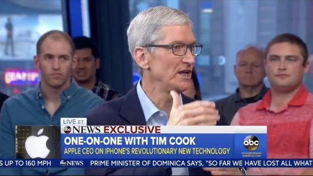 Tim Cook Calls Today 'A Day To Remember' Due to iOS 11, ARKit Launch