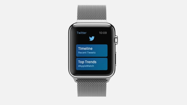 The Twitter Apple Watch App Disappears After Latest Update