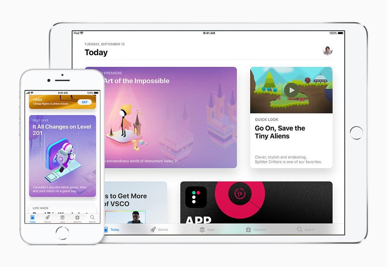 iOS 11 App Store
