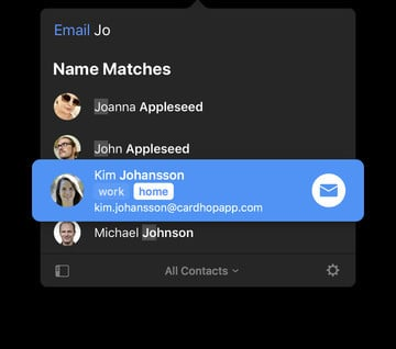Flexibits Reimagines Your Contacts in Cardhop for Mac