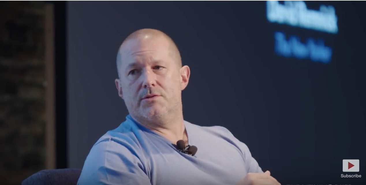 photo image Apple's Jony Ive Meets With The New Yorker to Discuss iPhone X, Jobs