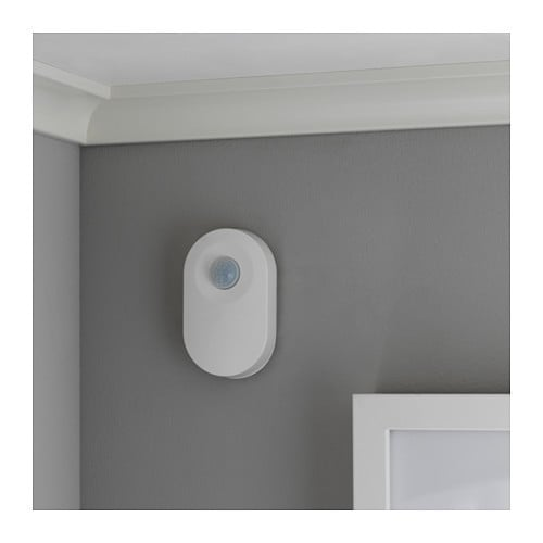 Along with smart lighting, the line includes other accessories like a wireless motion detector.