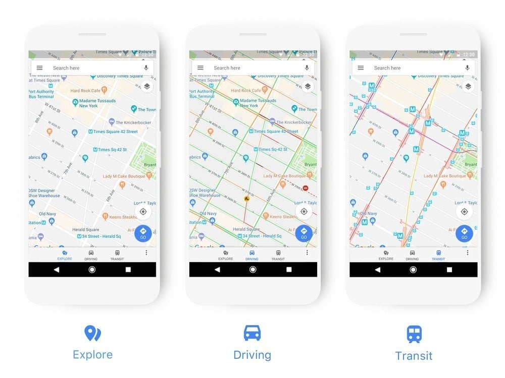 Google Maps Getting Redesigned; New Color Scheme & Icon To be Upgraded