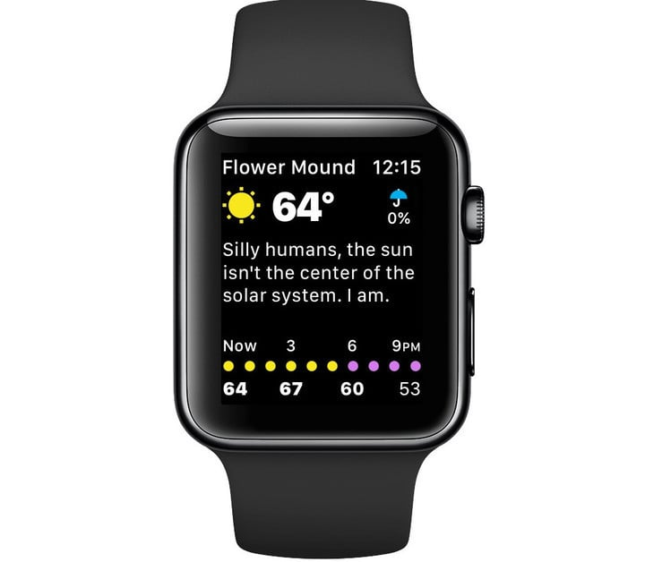 The Apple Watch app is sporting a completely new UI.