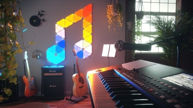 With Rhythm, Your Nanoleaf Light Panels Can Now Sync With Music