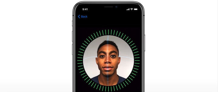After two quick scans, Face ID is ready to go.