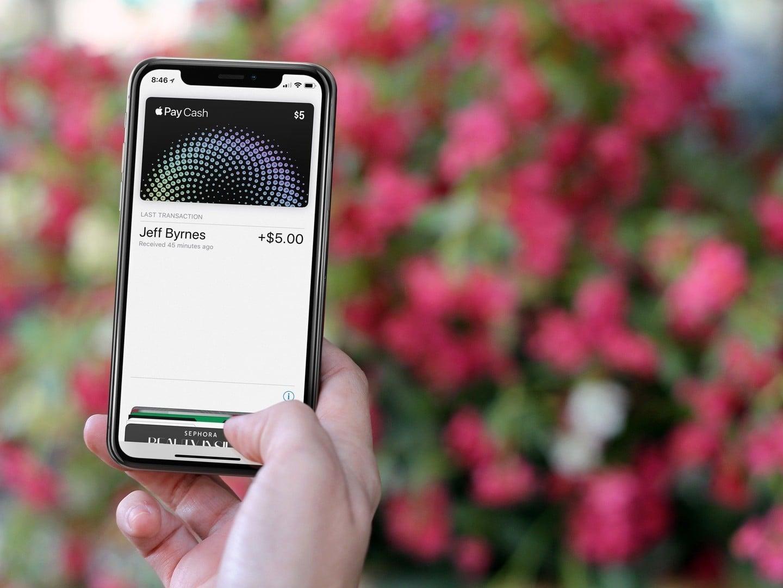 Using Apple Pay Cash