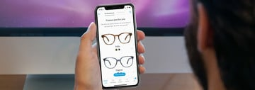 Find Your Next Pair of Warby Parker Glasses With Your iPhone X Camera
