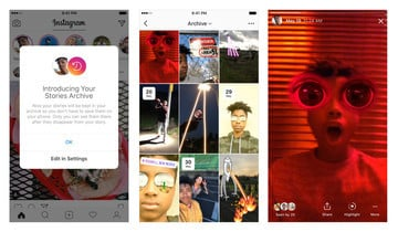 Instagram Adds New Stories Highlights and Stories Archive Feature