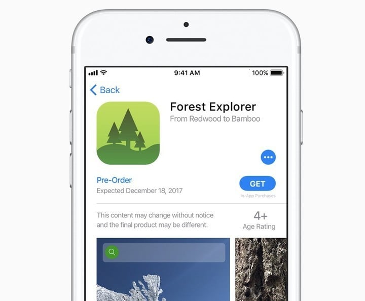 Apple allows developers to make apps available for pre-order