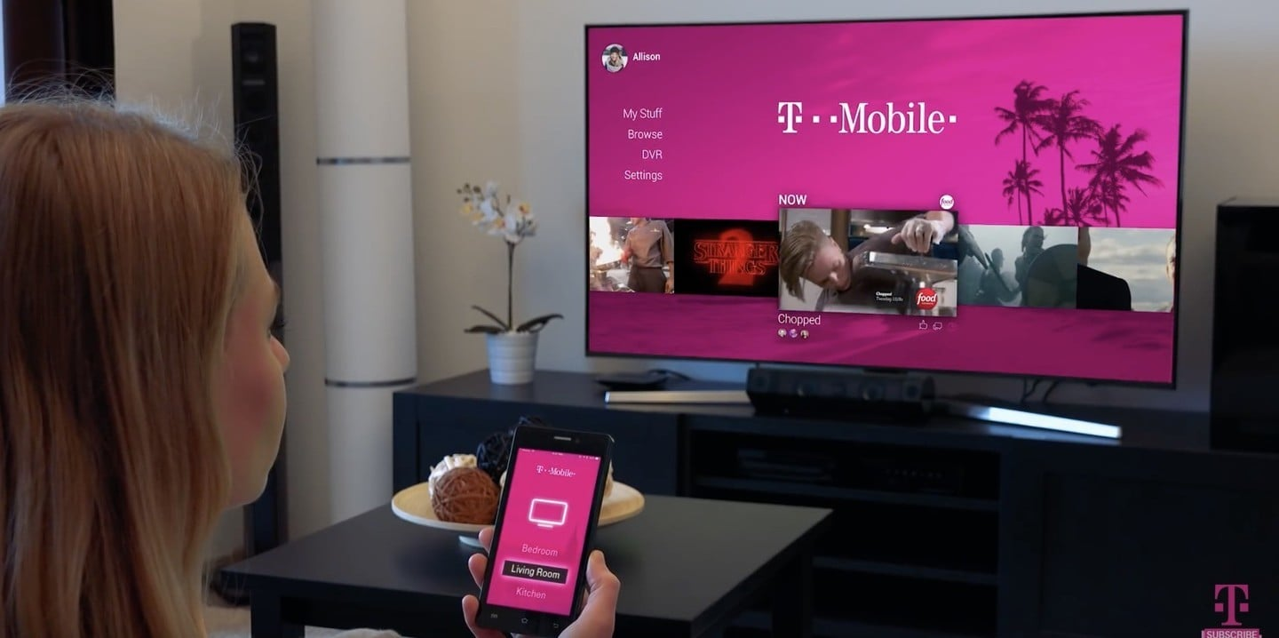 T-Mobile Streaming TV Service