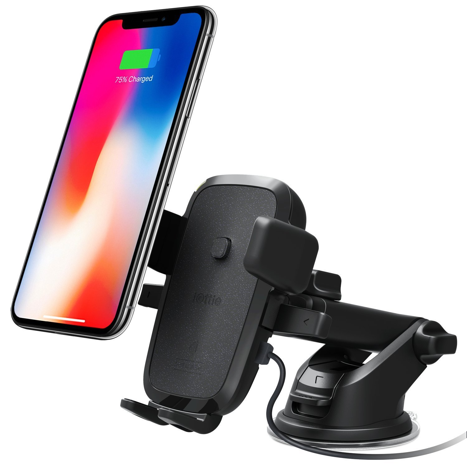 The iOttie Easy One Touch 4 Qi Car Mount is Perfect for Wireless Charging on the Go