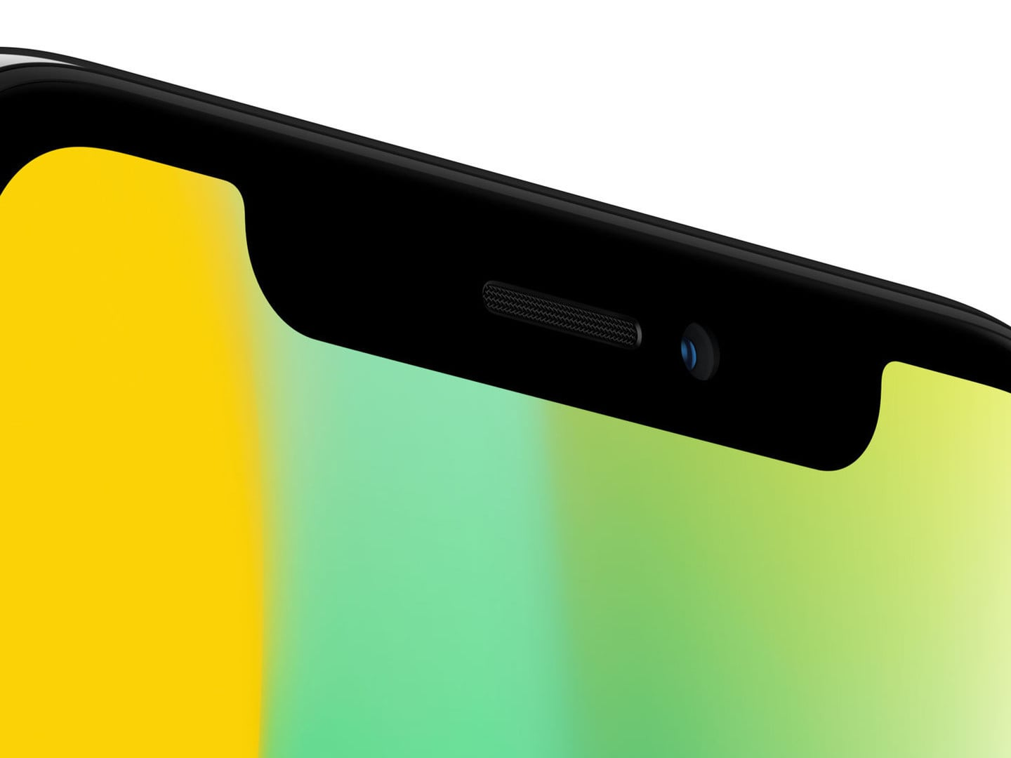 Sorry, but the iPhone's disgusting notch probably won't get smaller until 2019