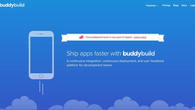 Apple Acquires Developer Support Company buddybuild