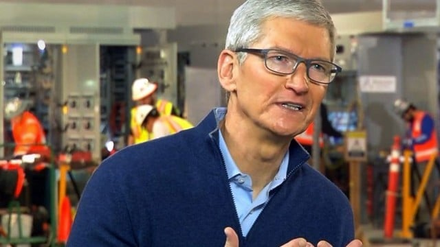 Apple's Cook Discusses iPhone Battery Controversy, Repatriation