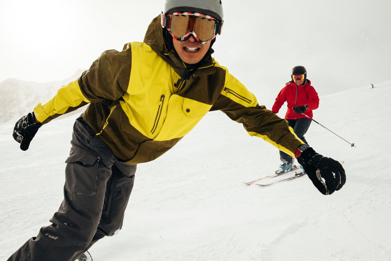 Track Skiing