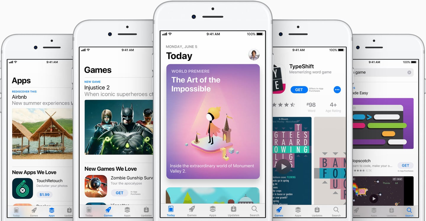 Developers Can Now Display Up to Ten Screenshots on the App Store