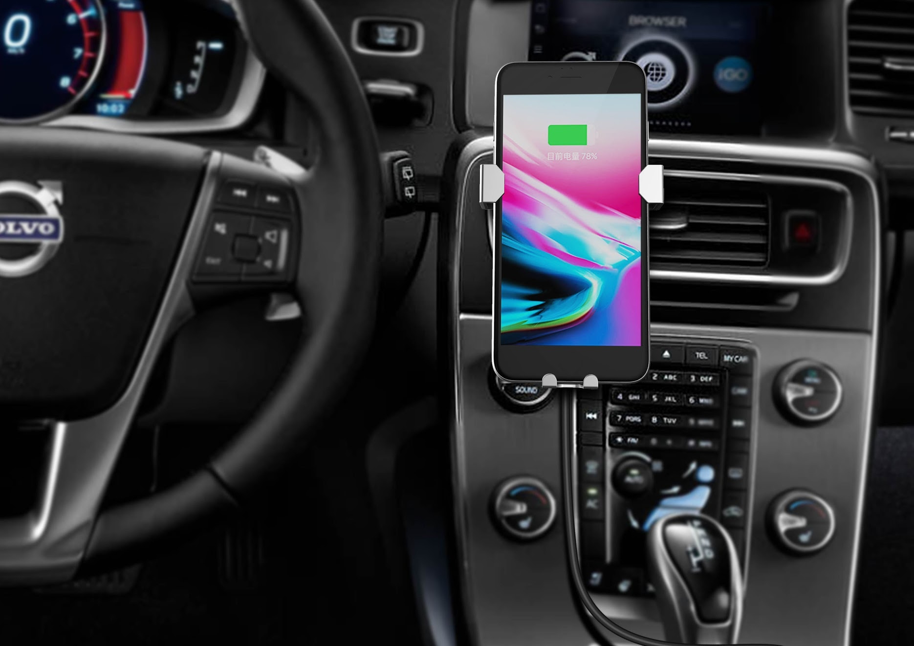 Mofin: A New Wireless iPhone Charger For Your Car