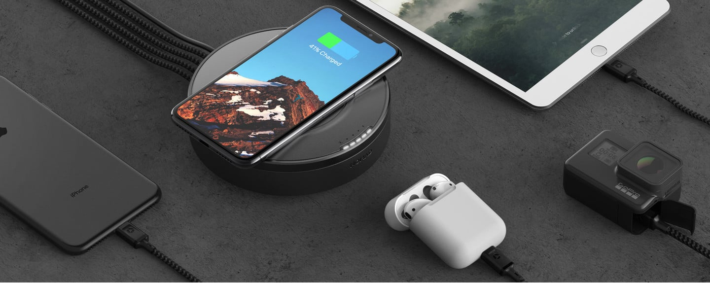 Nomad Wireless Charging USB Hub
