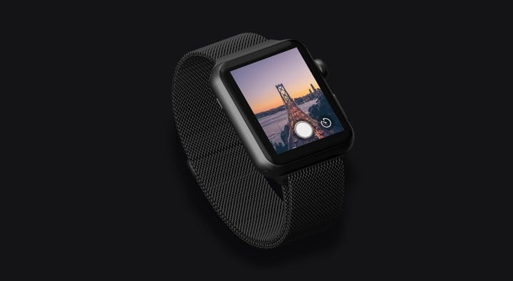 With the watch app, users can frame shots, trigger the shutter, and more.