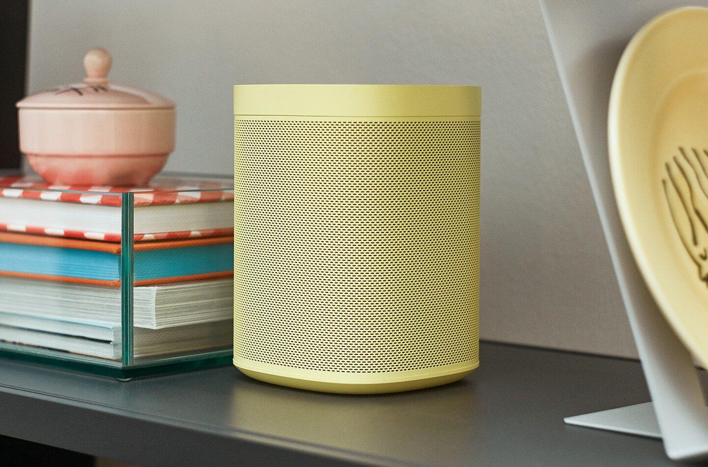 New Colors of the Sonos One Smart Speaker Arrive in September