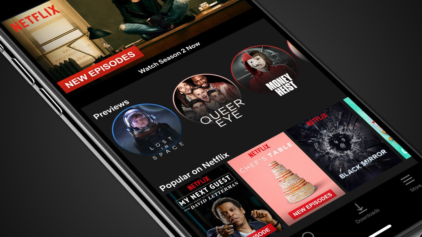 Netflix Mobile Video Previews