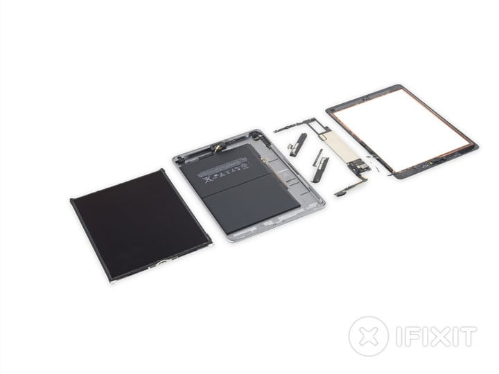 IFixit Tears Down the New iPad 6