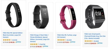 Amazon Offering Huge Discounts on Fitbit Products for Short Time