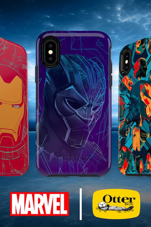 Just in Time for 'Avengers: Infinity War,' OtterBox Launches New iPhone Cases