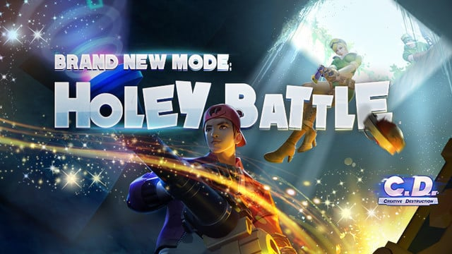 Holey Battle Mode Added to Creative Destruction in Recent Update