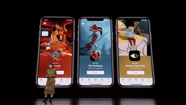 Apple Arcade Was the Star of the Show
