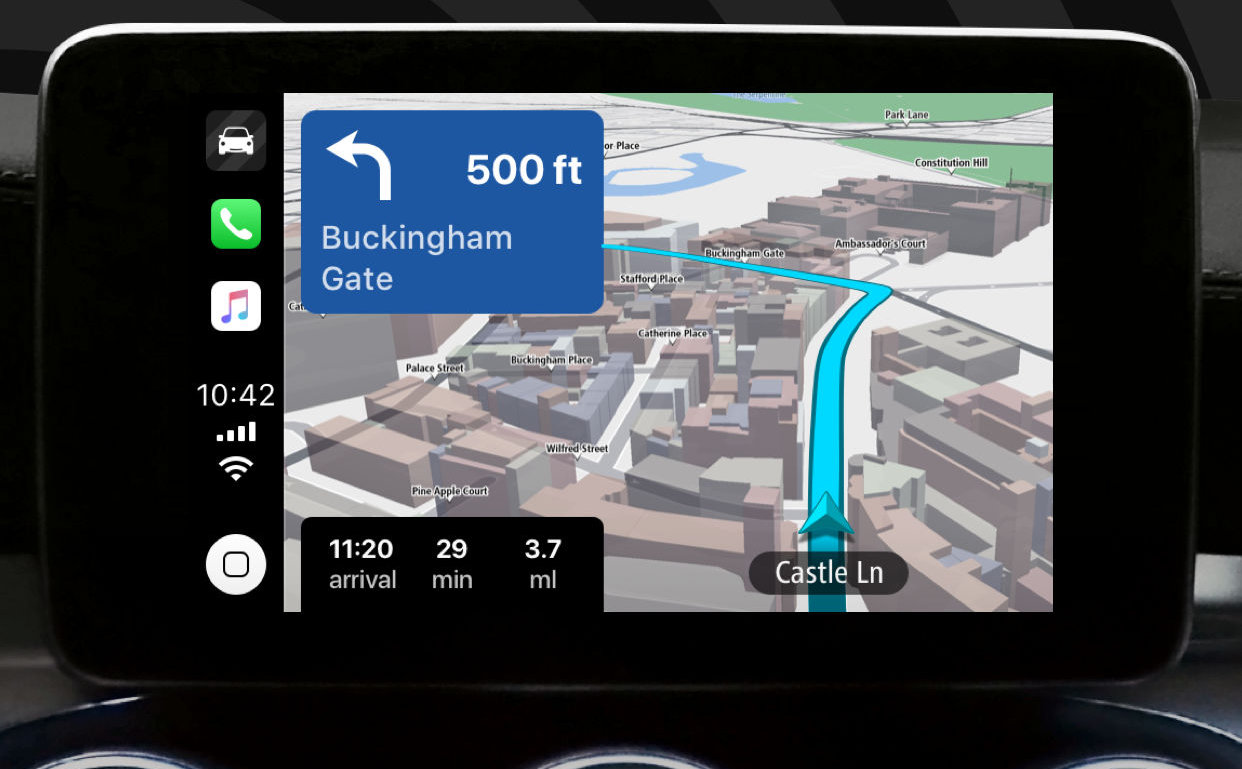 photo of TomTom Go Navigation Updated With Apple CarPlay Support image