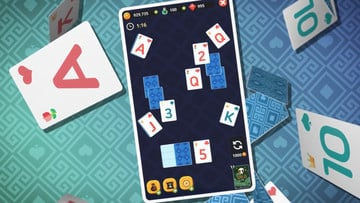 Theme Solitaire is a Tri Peaks Spin-off with Fairytale Characters