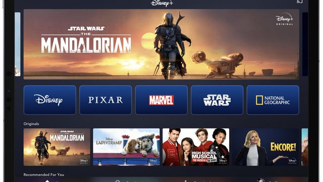 Disney+ Streaming Service Arrives on iPhone, iPad and Apple TV