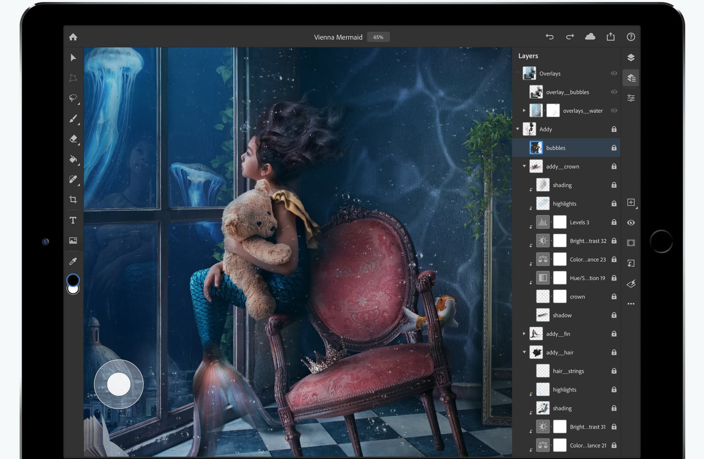 Adobe Photoshop for iPad finally released