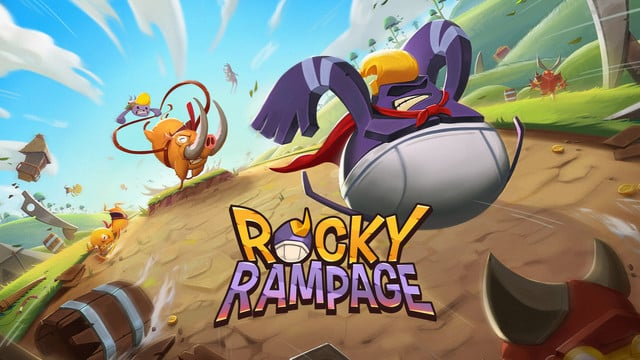 Rocky Rampage: Wreck 'em Up is an Addictive Boulder Rolling Casual Game