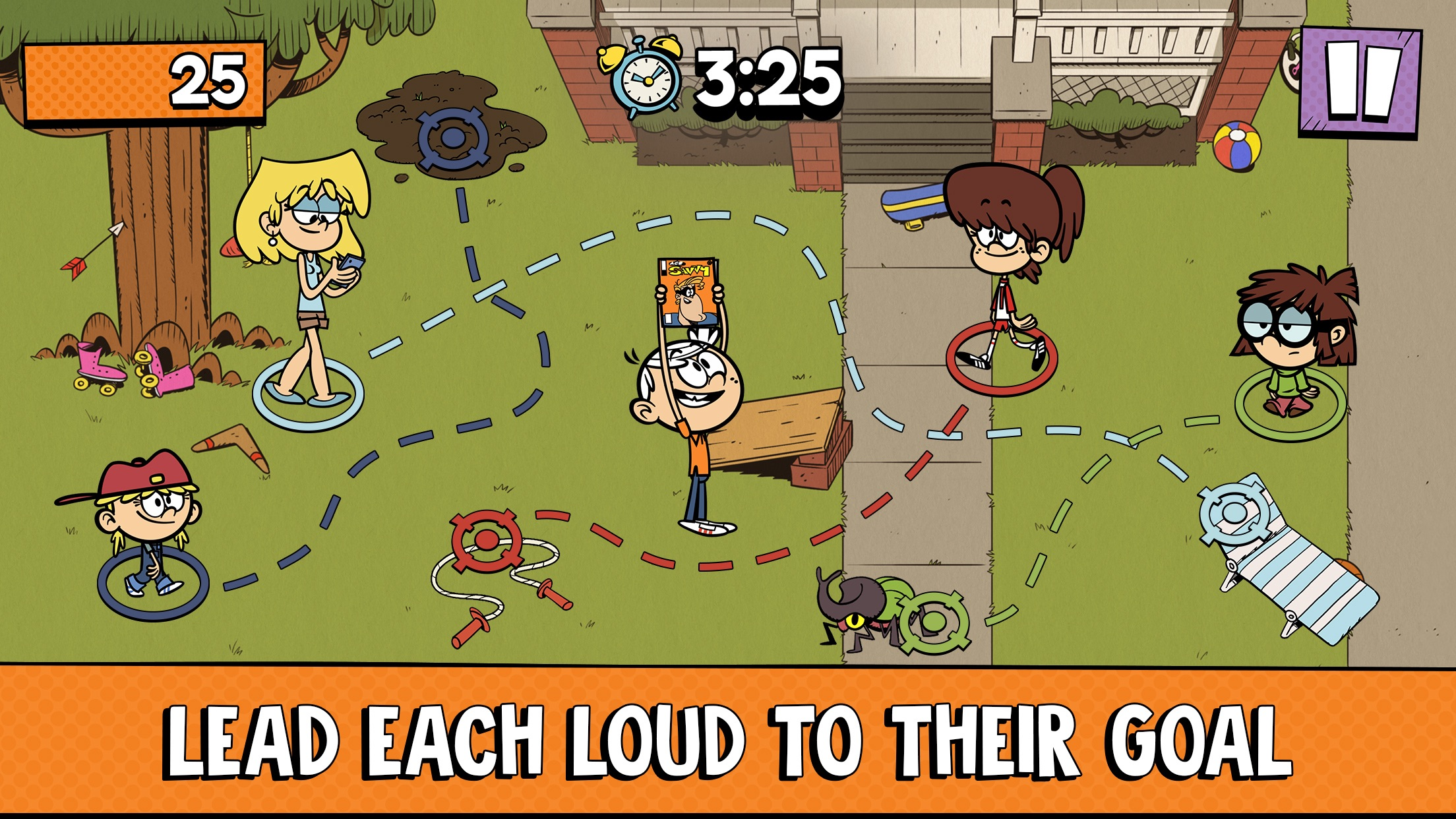 Loud House: Outta Controls Drops onto Apple Arcade