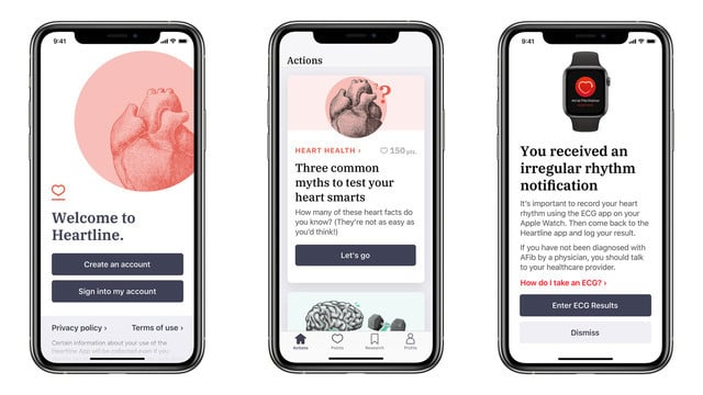 Johnson & Johnson Collaborates With Apple to Launches New Heartline App