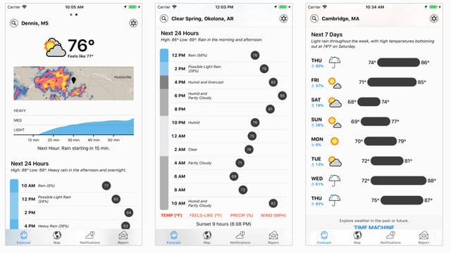 Apple Acquires Powerful and Popular Weather App Dark Sky