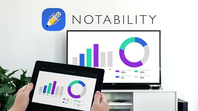 Popular Notes App Notability Adds Presentation Mode and More in a New Update