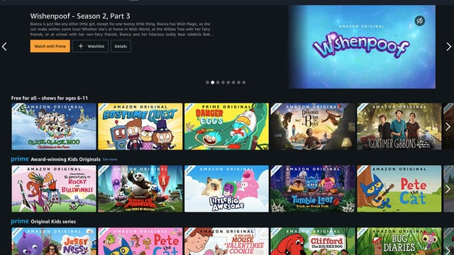 Amazon Making a Big Selection of Kids TV Shows and Movies Free to Stream