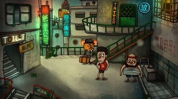 Mr. Pumpkin 2 is a Point-and-Click Adventure Sequel Set in the Infamous Kowloon Walled City