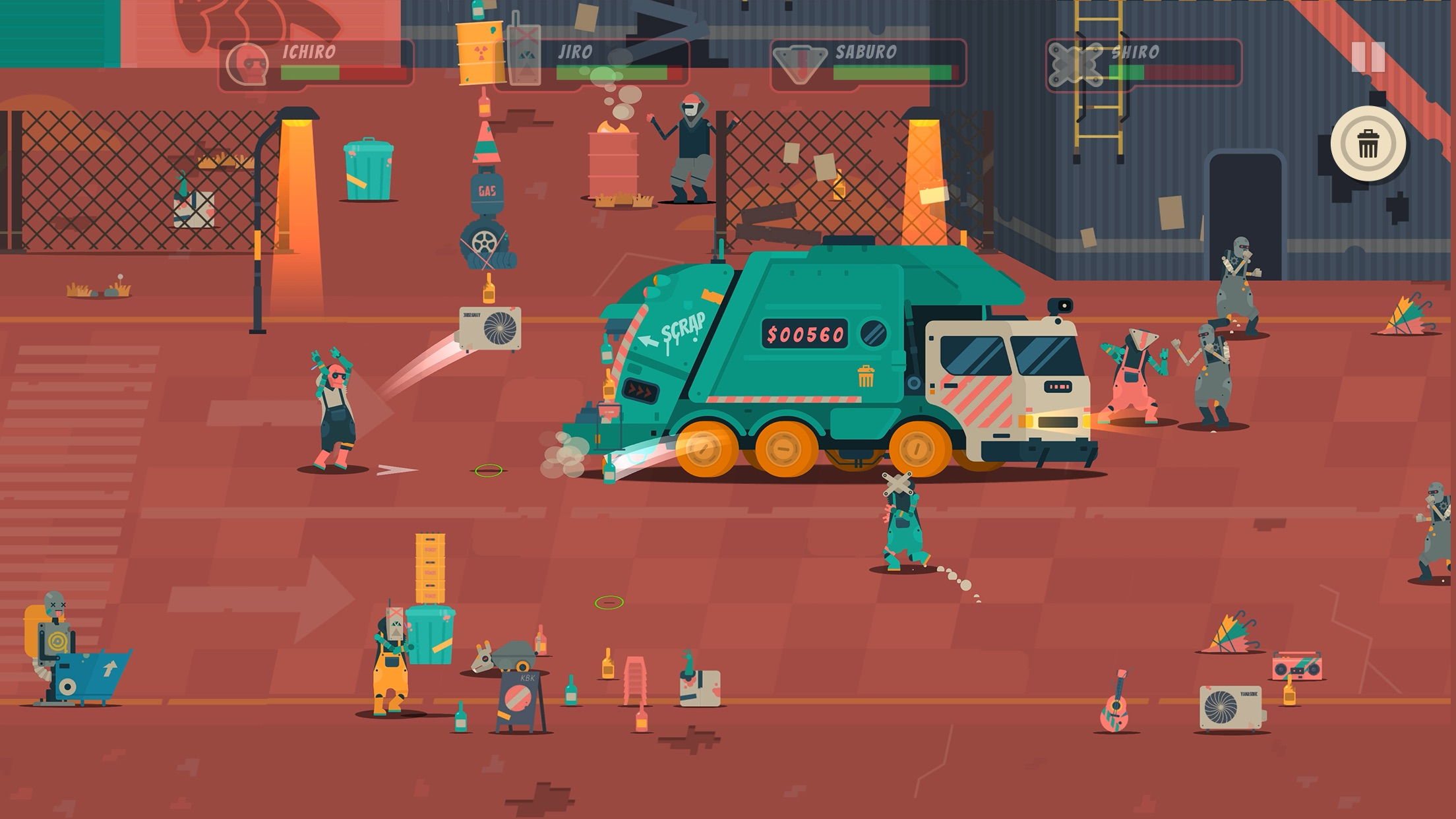 Apple Arcade Adds the New Trash Cleaning Game Scrappers
