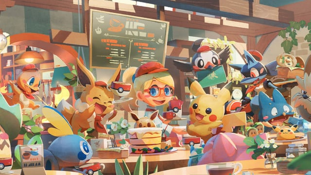 Pokémon Café Mix Arrives Next Week on the App Store