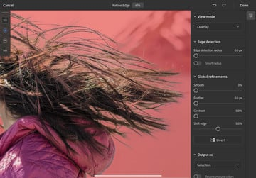 Adobe Photoshop for iPad Updated With Rotate Canvas and Refine Edge